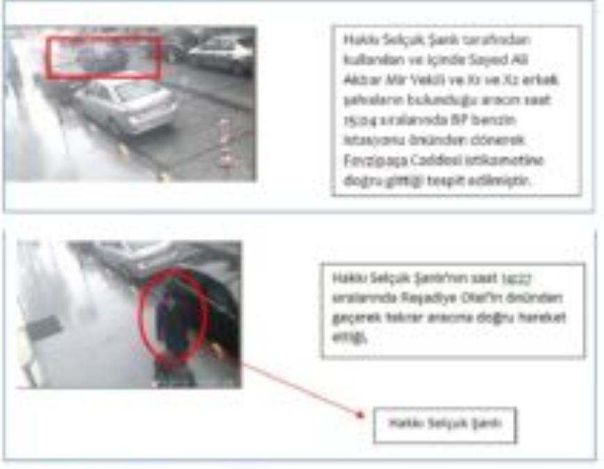 ifmat - Surveillance photographs of Hakki Selcuk Sanli as he and IRGC Quds Force general