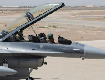 ifmat - Iran-backed militia threats forced US contractors working on F-16