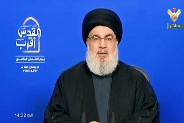 ifmat - Liberation of Quds closer than ever says Hezbollah chief
