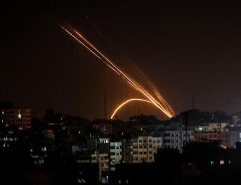 ifmat - Terror attack - Iran-backed Hamas said it fired rockets at Israel