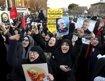 ifmat - Iran inaction on COVID leads to protests