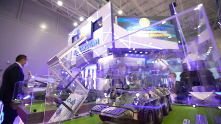 ifmat - Kazakhstan Signs 14 2 million in military contracts