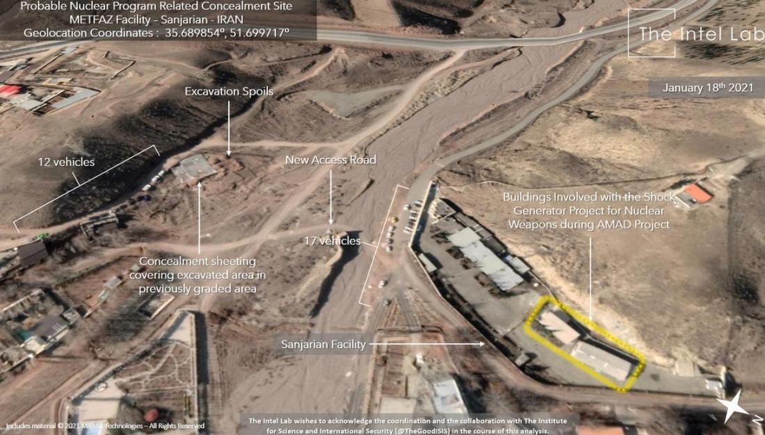 ifmat - Satellite images of Iran nuclear site raise alarms as IAEA meets in Vienna