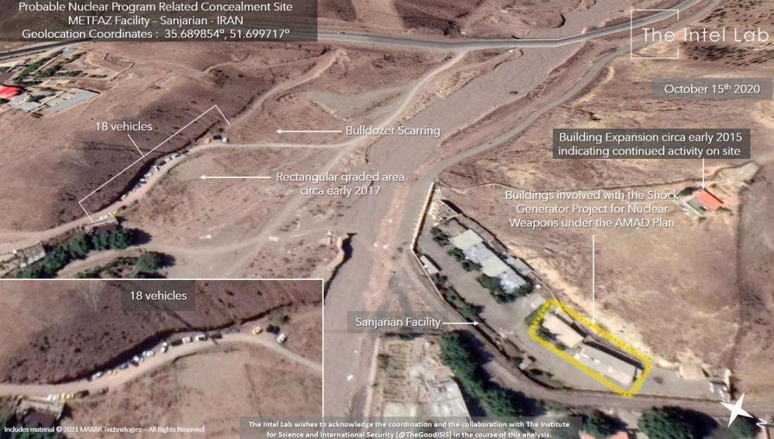 ifmat - Satellite images of Iran nuclear site raise alarms as IAEA meets in Vienna2