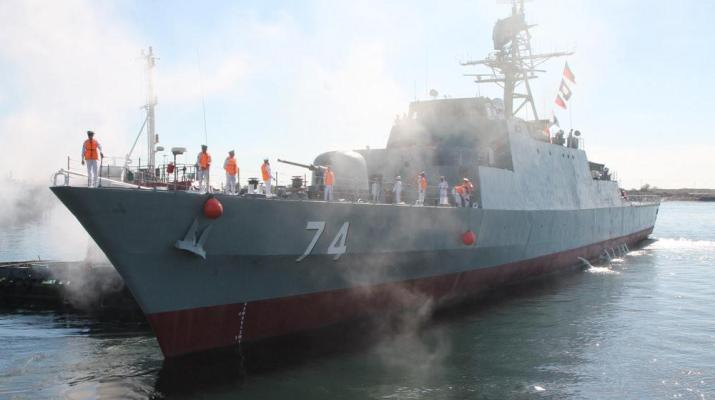 ifmat - An Iranian military vessel enters the Estonian waters without permission