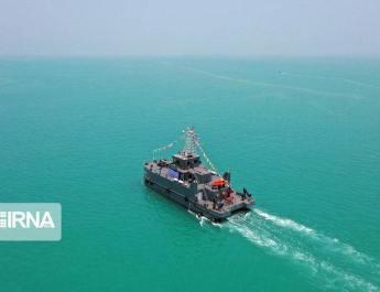 ifmat - Iran displays autonomous underwater vehicle