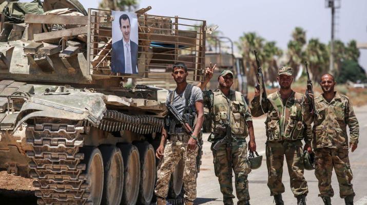 ifmat - Iran militias violate Daraa ceasefire
