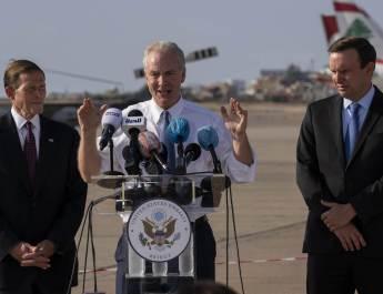ifmat - Delegation of four US senators warn against Iranian fuel shipments to Lebanon