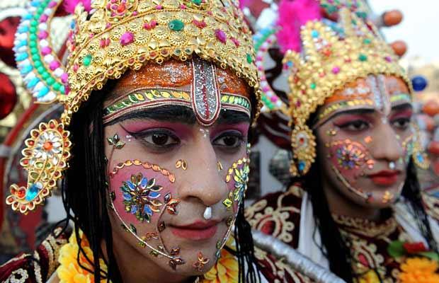 Tres Mujeres de la India
