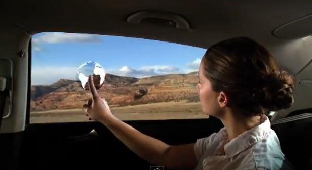 Advanced tech car window