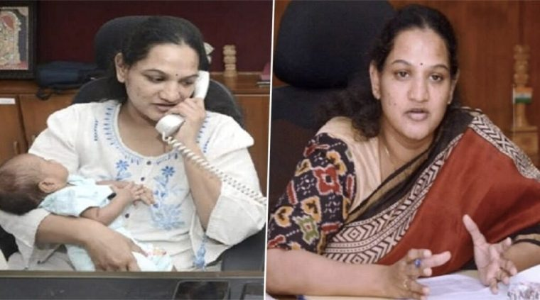 IAS Officer Gives Up Maternity Leave, Resumes Work Amid Corona Crisis; Netizens Applaud Her