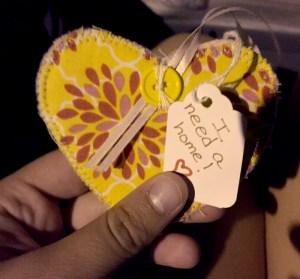 Pretty Yellow Heart WX