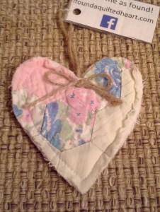 Beautiful Quilt Heart