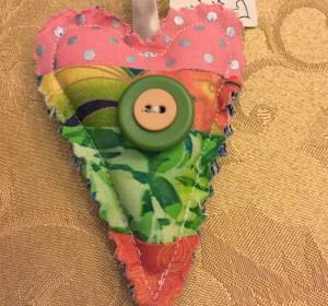 Double Button  Heart  WX