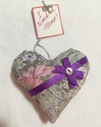 Beautiful ribboned heart wx