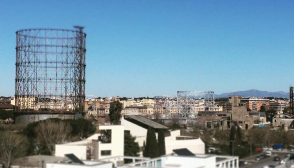 Gazometro come vista