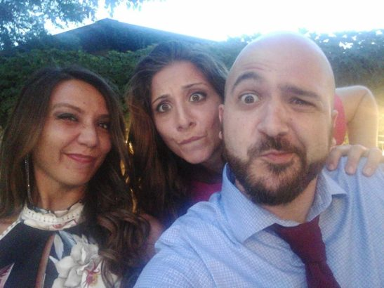 Serena, Silvia e Andrea paura blog