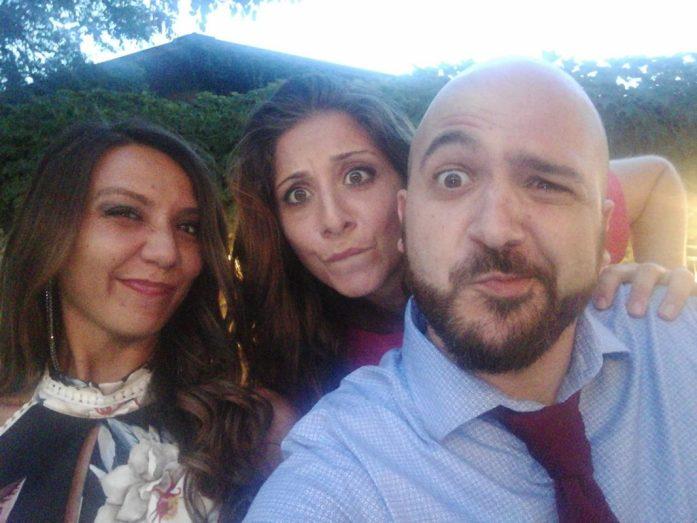 Serena, Silvia e Andrea