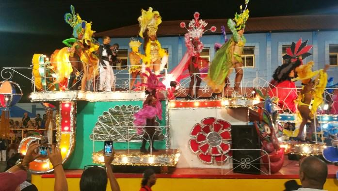 Carri carnevalischi a Santiago De Cuba