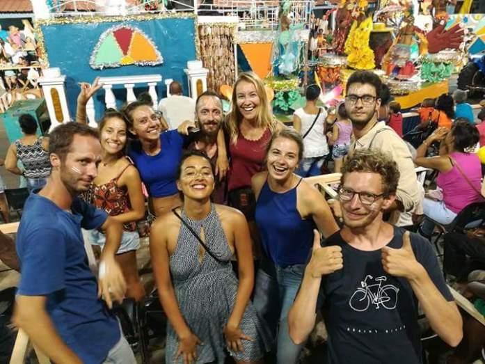 Viaggiatori incontrati a Santiago De Cuba