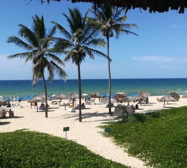 Spiaggia Miramar nei pressi de L'Avana