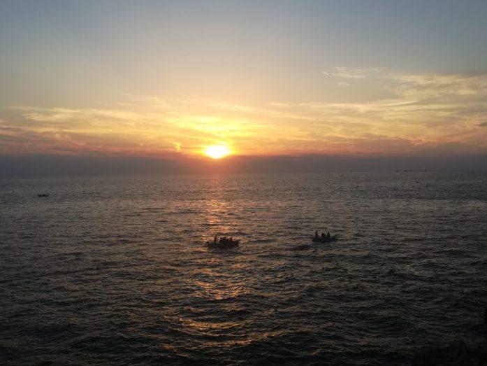 tramonto rovigno