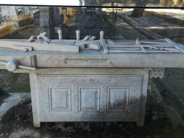cimitero dos prazeres tomba di josé alexandre