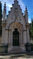 Raffinatezza nel Muausoleo al Cimitero dos Prazeres di Lisbona