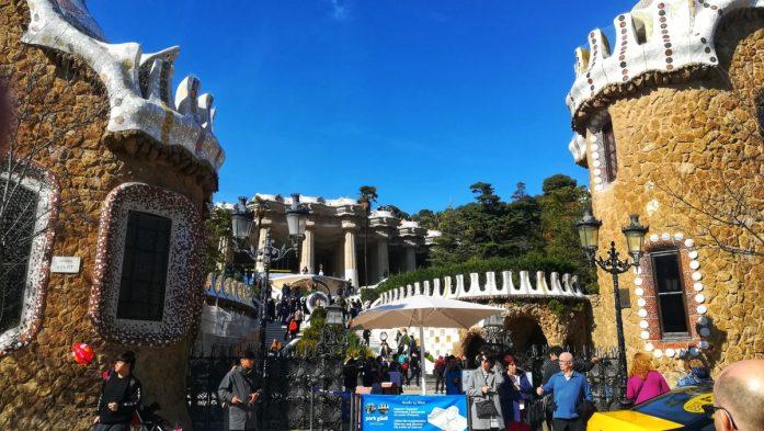 Il meraviglioso Parc Güell di Barcellona