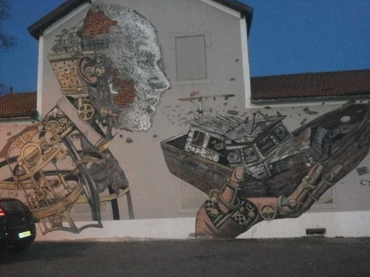Bellezze sui muri tra i vicoli di ALfama
