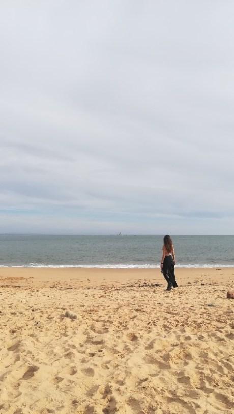 raggiungere la spiaggia di Carcavelos