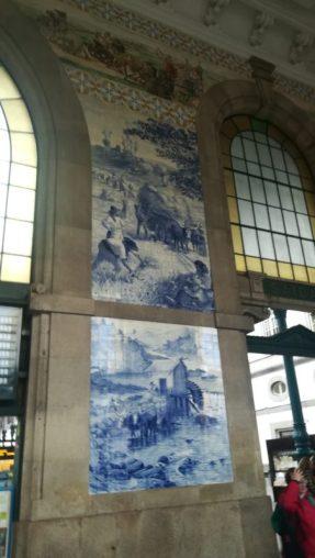 La bellissima stazione di São Bento, 48 ore per visitare Porto