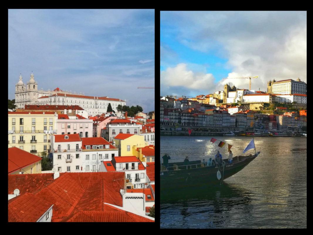 È più bella Lisbona o Porto ? Un viaggio di riflessioni e letteratura