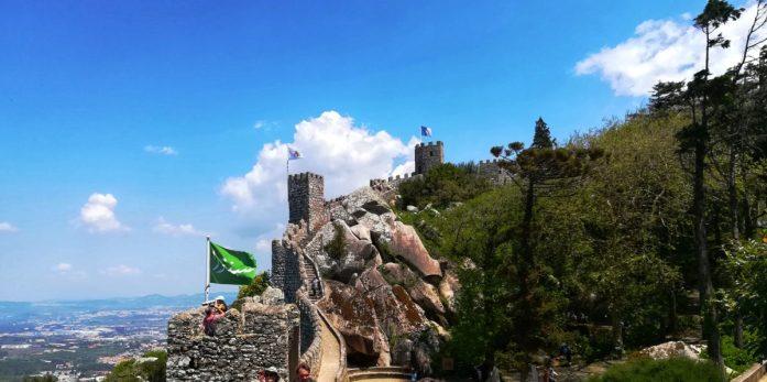 Cosa visitare in un giorno a Sintra, il castello dei mori e e le sue rovine
