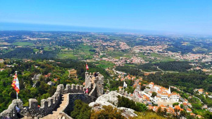 Cosa visitare in un giorno a Sintra, castello dei mori e la sua vita