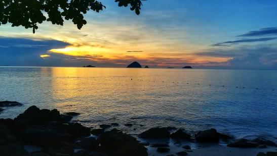 Andare-alle-isole-Perhentian-il-tramonto