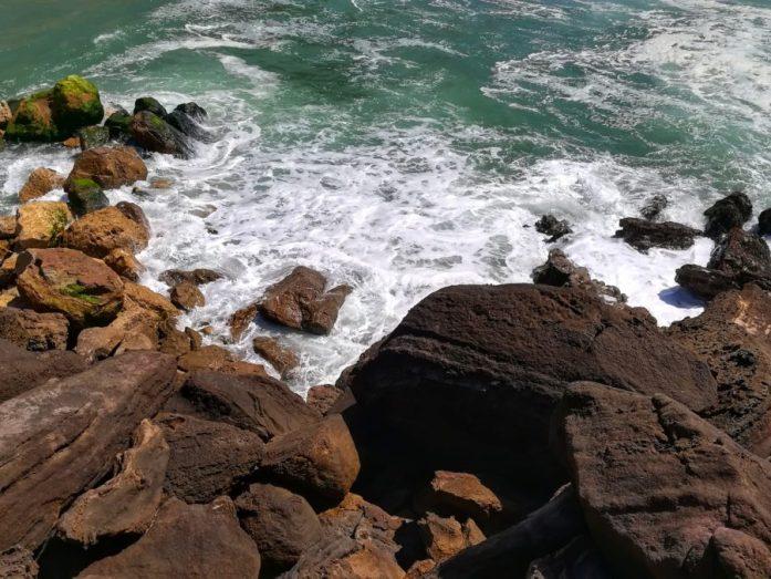 spiaggia di santa cruz in portogallo