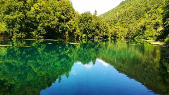 Sali di Rame nel fiume Nera