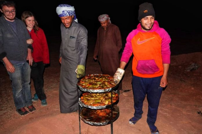 beduini giordania come cucinano