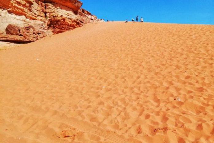 informazioni utili wadi rum dune di sabbia