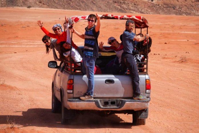 deserto giordano in jeep