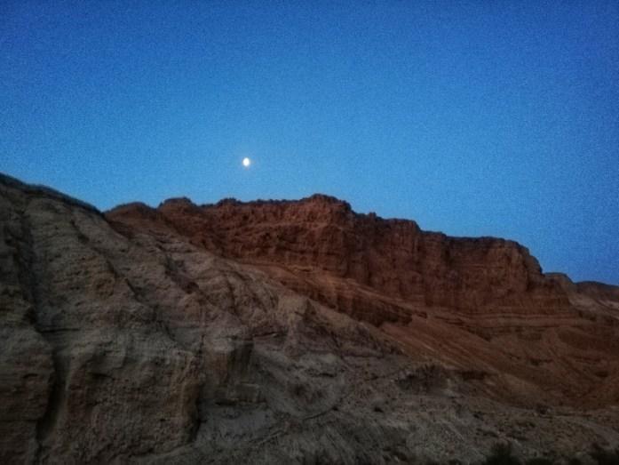 dal monte la luna a masada