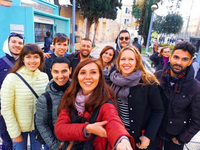 selfie viaggio di gruppo prima volta coordinatrice