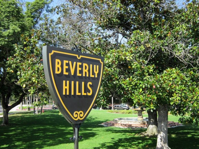 segnale beverly hills california