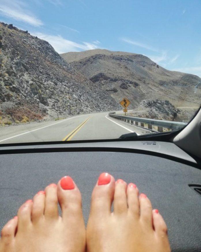 guidare nella death valley