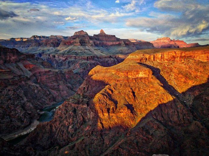 grand canyon panorama colori