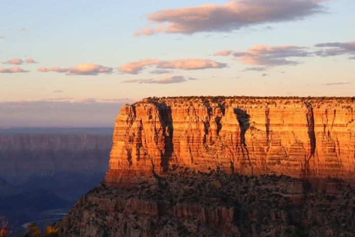 tramonto grand canyon da vedere