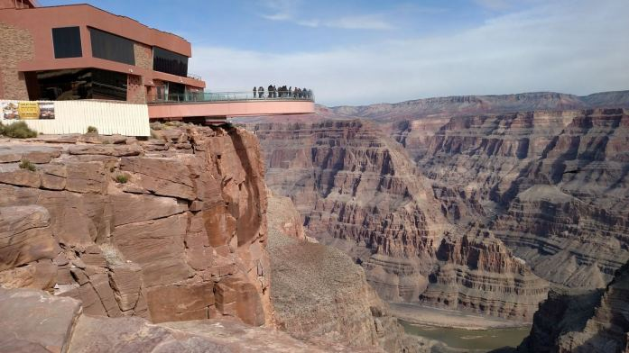 Skywalk grand canyon percorso
