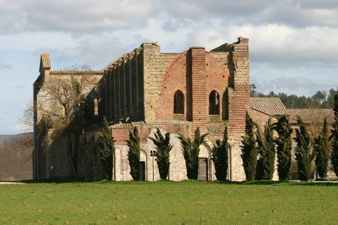 dove si trova abbazia san galgano