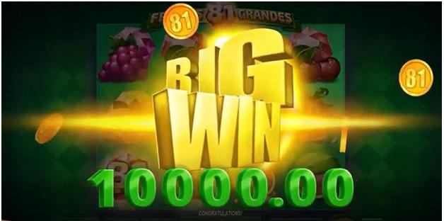 81 Frutas Grandes – Big Win